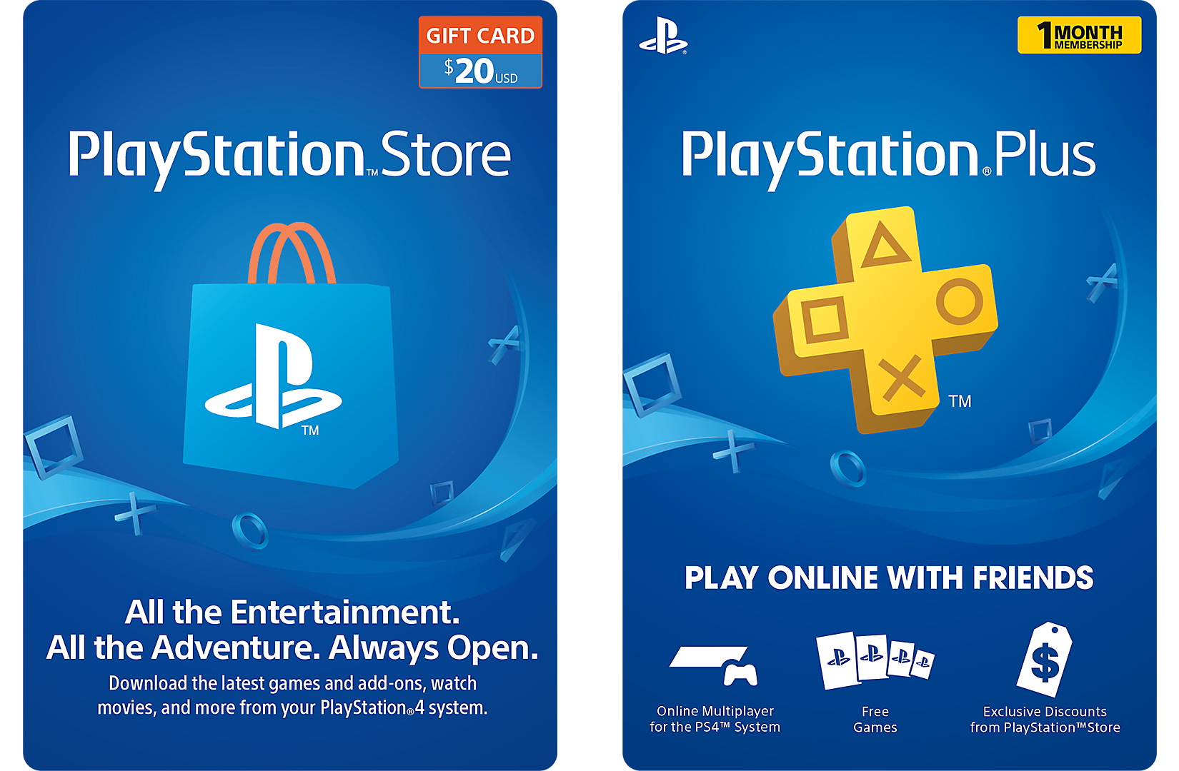 Psn Cards Playstation