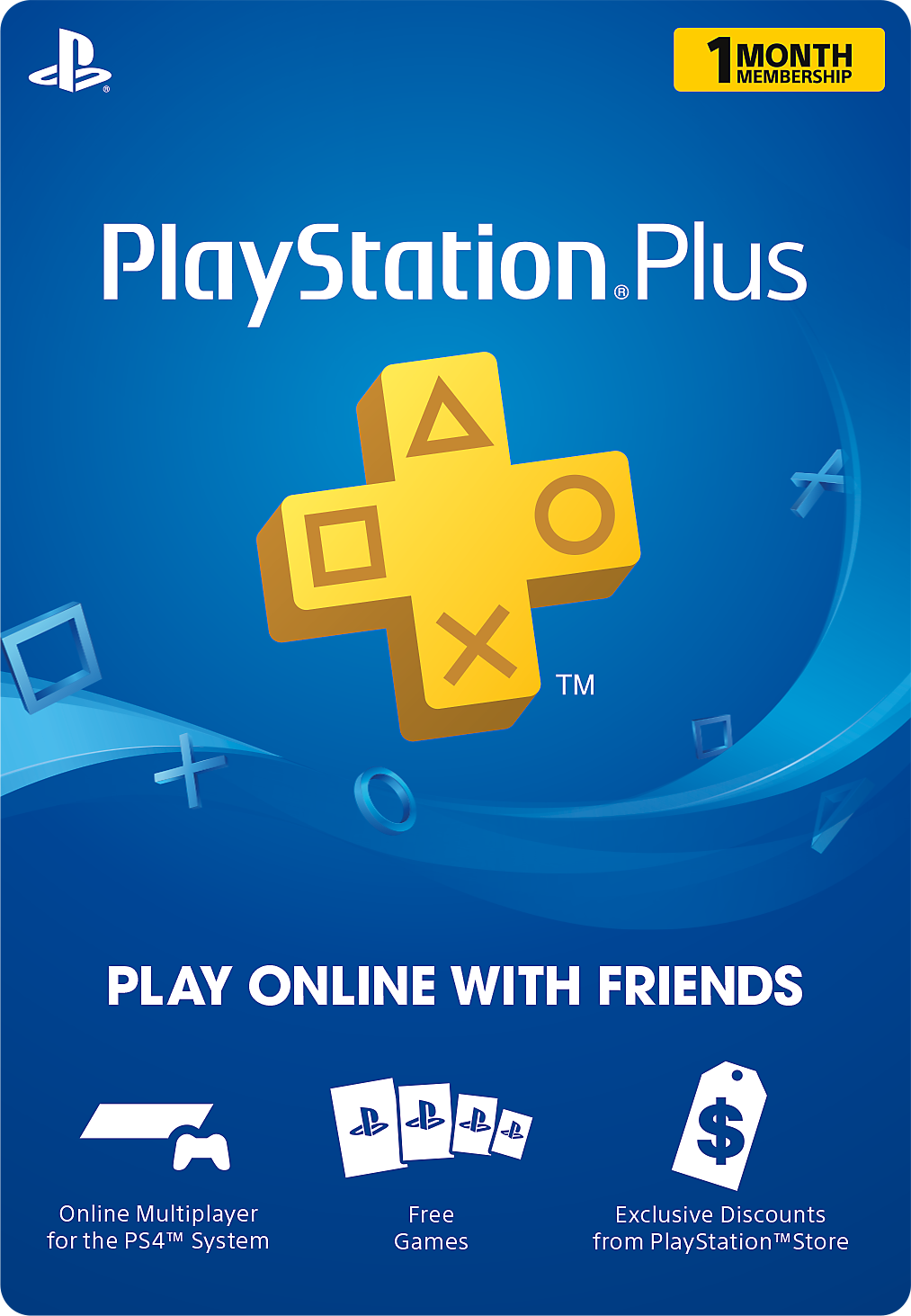 Buy a digital card below to download a PlayStation Plus membership code. Redeem your code to unlock your new membership, or gift it to a friend!