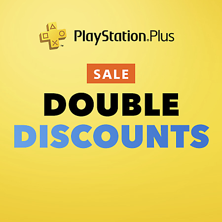 PlayStation Plus - Double Discounts Sale