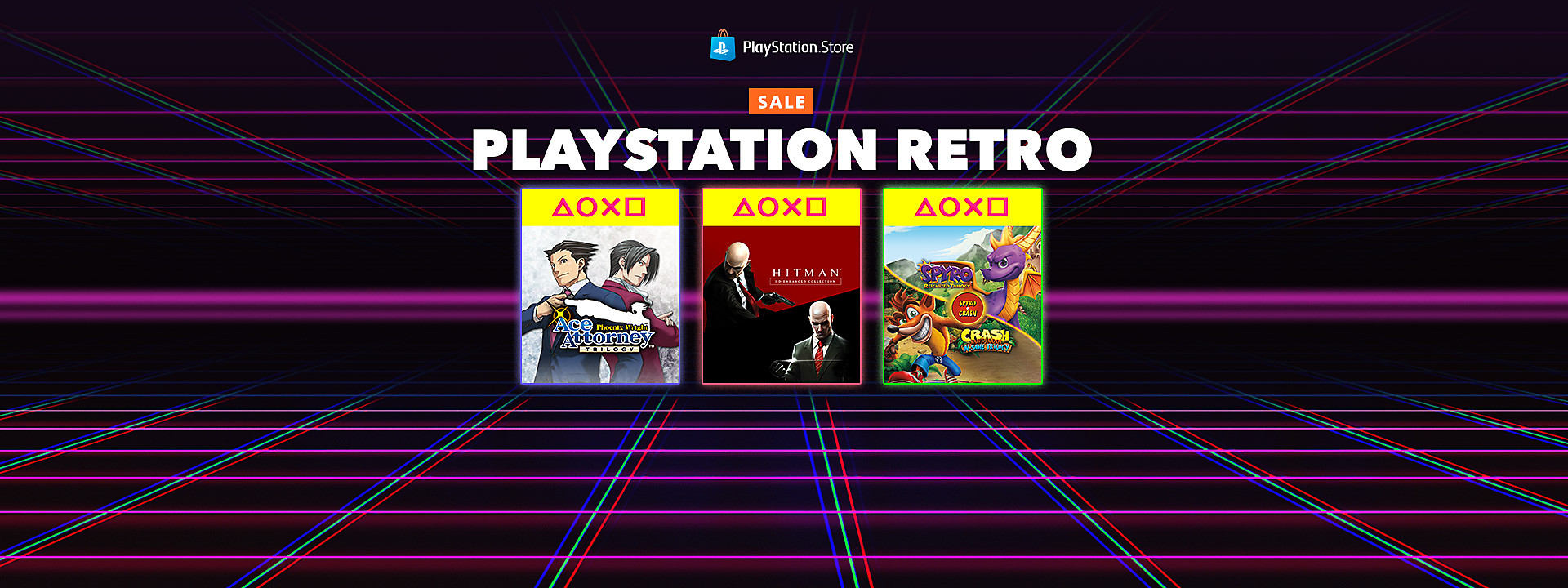 PlayStation Store Retro Sale - July 9 -23