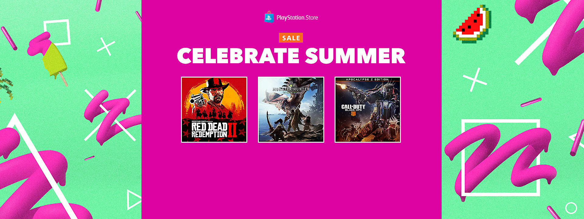 PlayStation Store Summer Sale - July 23 - August 20