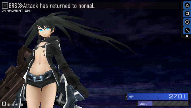 Black Rock Shooter The Game Screenshot 10