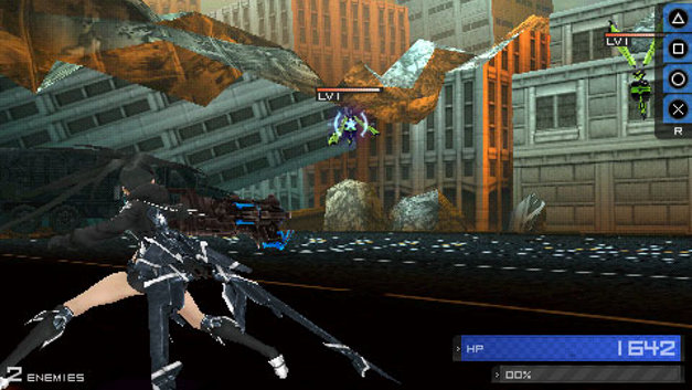 Black Rock Shooter The Game Screenshot 1