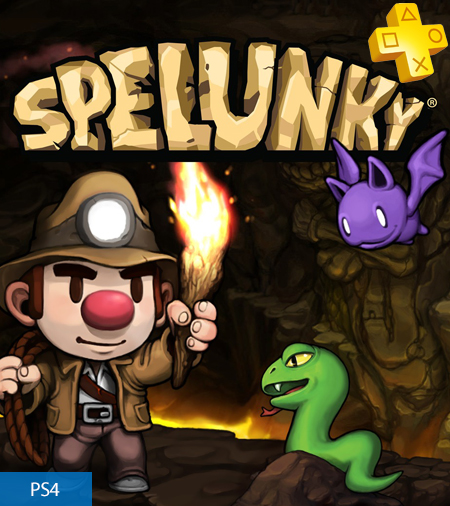 Spelunky - Free with PlayStation Plus