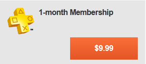 1-Month Membership - Join Playstation Plus