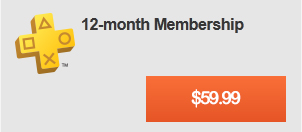 12-Month Membership - Join Playstation Plus