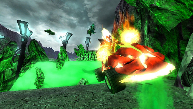 BEN 10™ GALACTIC RACING Screenshot 7