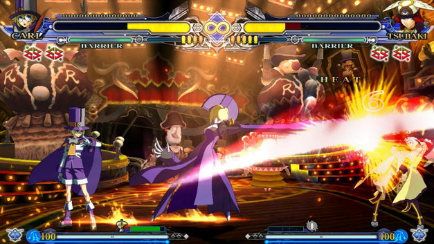BlazBlue: Continuum Shift EXTEND Screenshot 1