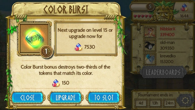 Treasures of Montezuma Blitz  Screenshot 1