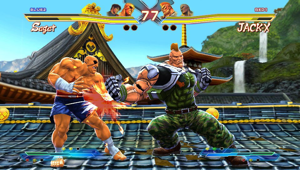 Image result for STREET FIGHTER X TEKKEN ps vita