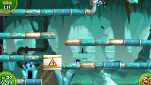 Lemmings™ Touch Screenshot 2