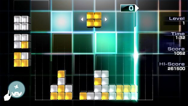Lumines™ Electronic Symphony Screenshot 1