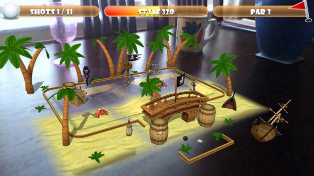 Table Mini Golf Screenshot 1