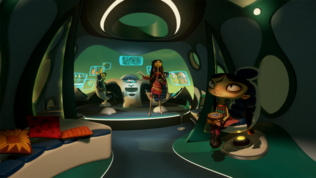 Psychonauts In the Rhombus of Ruin Screenshot 1