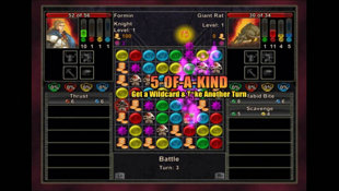 Puzzle Quest: Challenge of the Warlords™ Screenshot 2