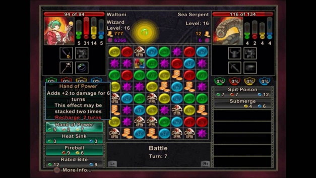 Puzzle Quest: Challenge of the Warlords™ Screenshot 10