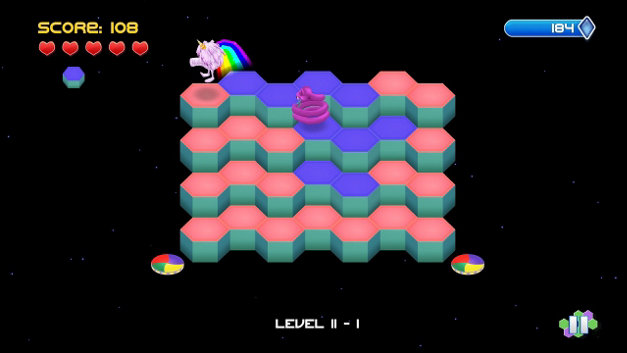 Q*Bert Rebooted Screenshot 1