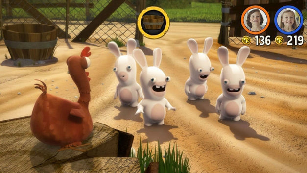 Rabbids® Invasion Screenshot 1