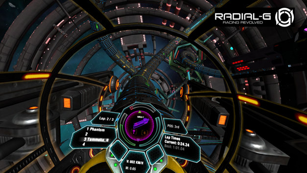Radial-G : Racing Revolved (VR) Screenshot 10