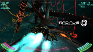 Radial-G : Racing Revolved (VR) Screenshot 18