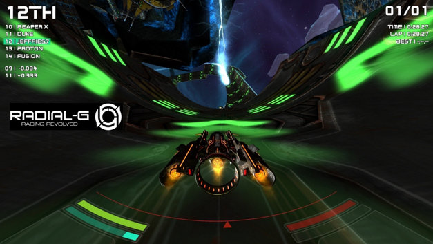 Radial-G : Racing Revolved (VR) Screenshot 22