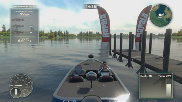 Rapala Fishing: Pro Series Screenshot 1