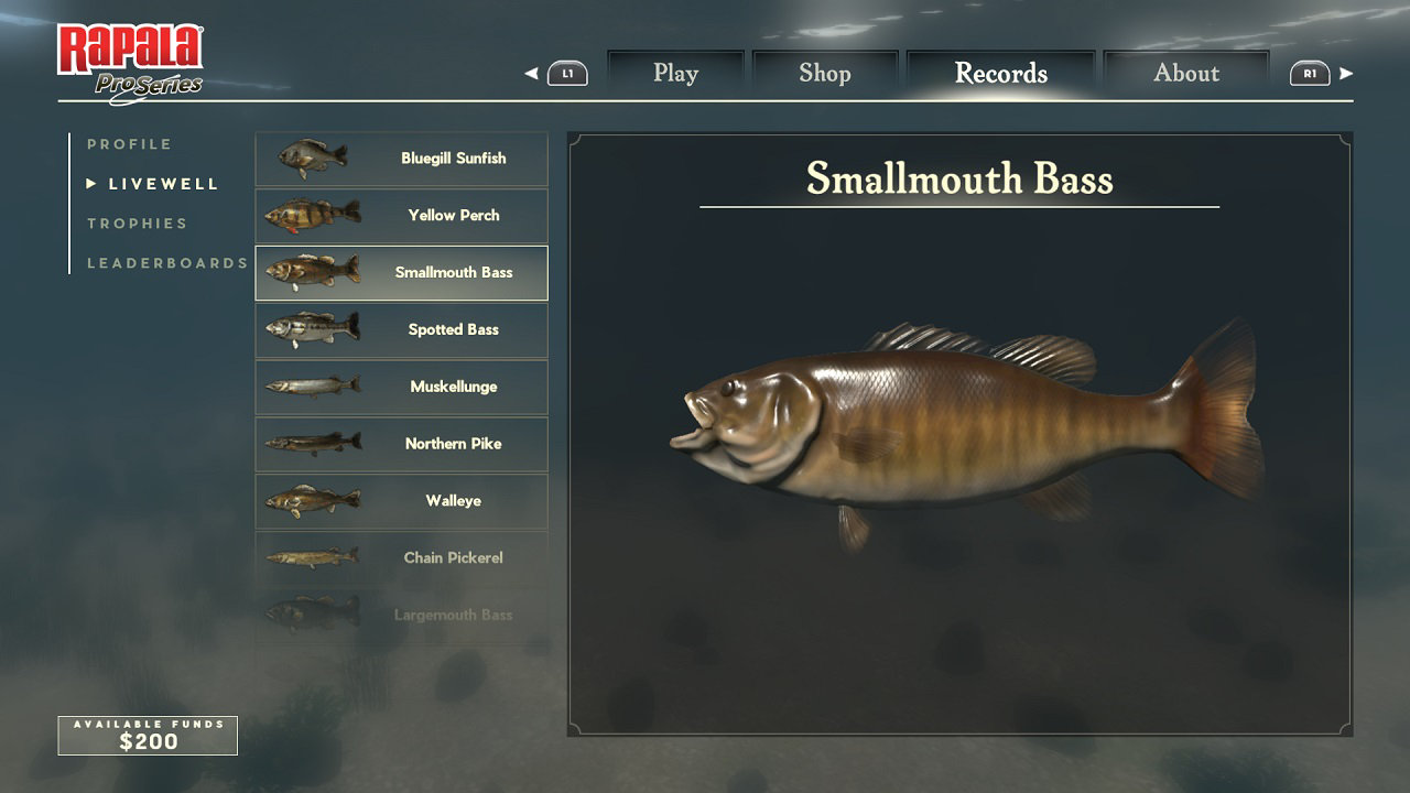 Rapala Fishing Pro Series Game Ps4 Playstation