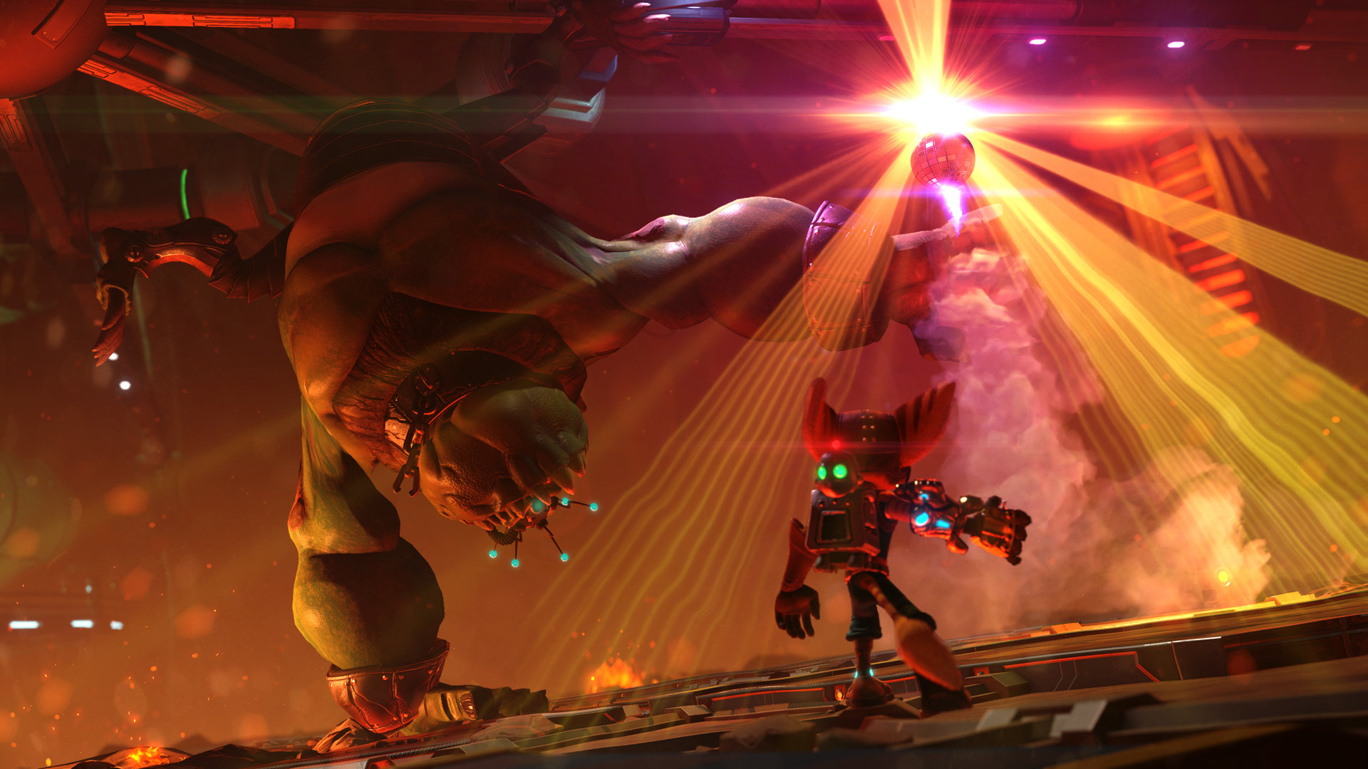 Ratchet Clank Game Ps4 Playstation