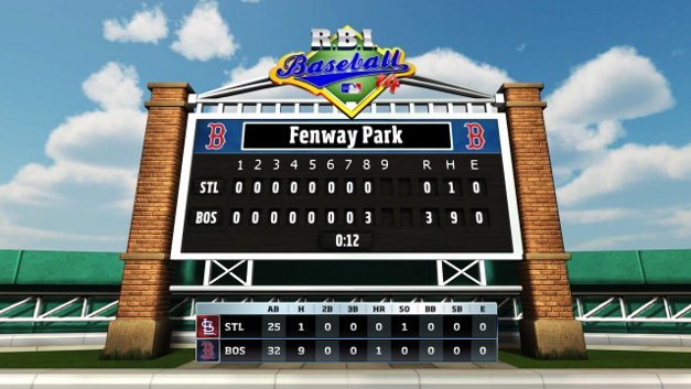R.B.I. Baseball 14 Screenshot 1