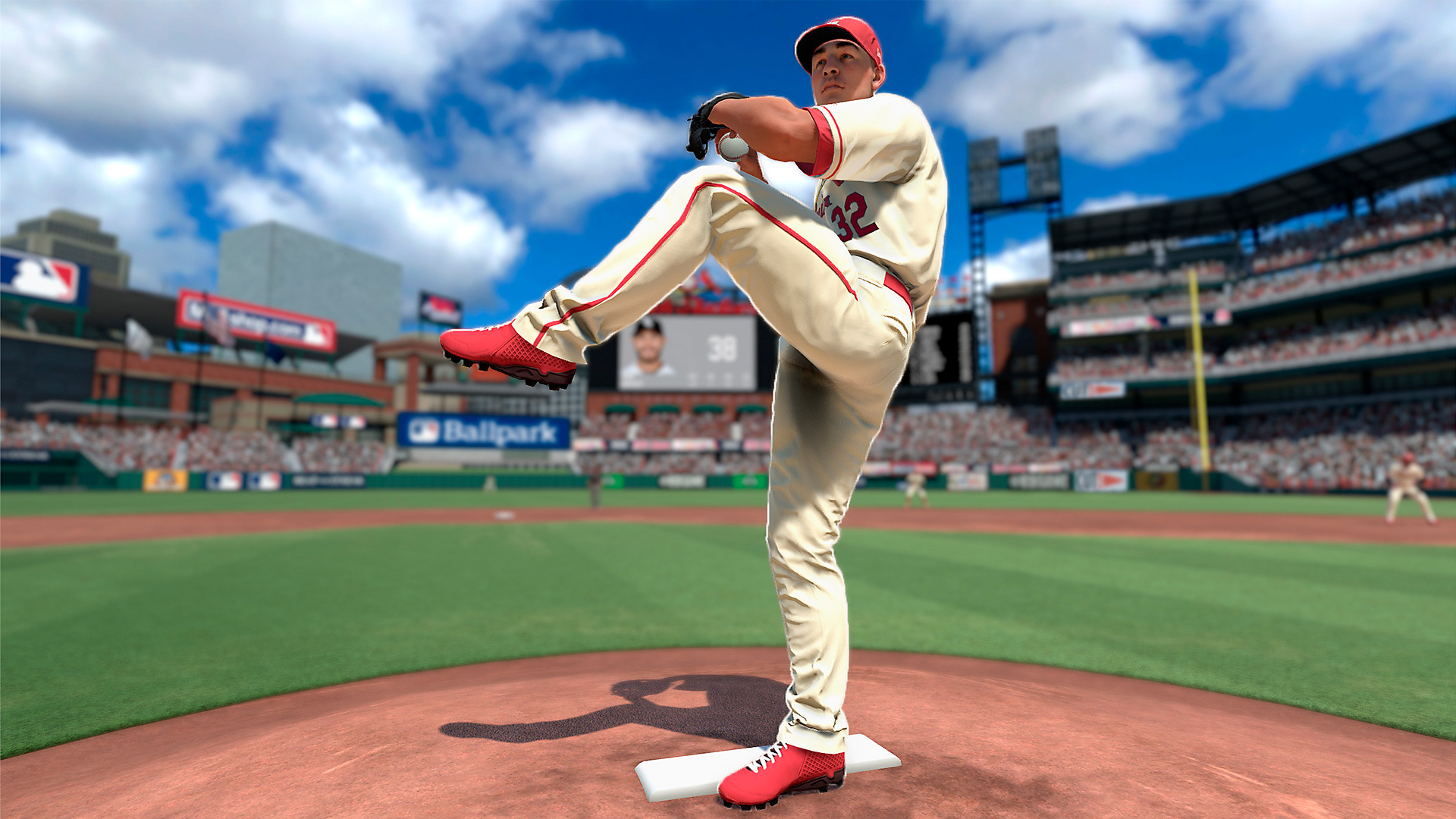 Gameplay de R.B.I. Baseball 19