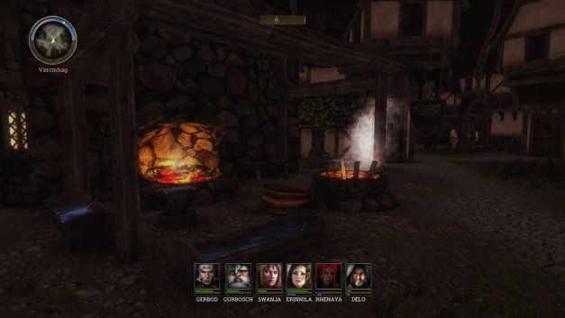Realms of Arkania: Blade of Destiny Screenshot 1