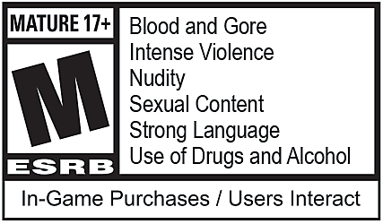 Red Dead Redemption 2 ESRB Rating