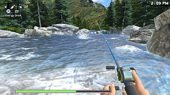 Reel Fishing: Road Trip Adventure - Screenshot INDEX