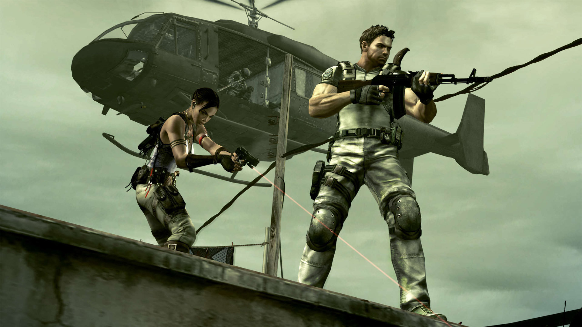 Resident Evil 5 Game Ps4 Playstation