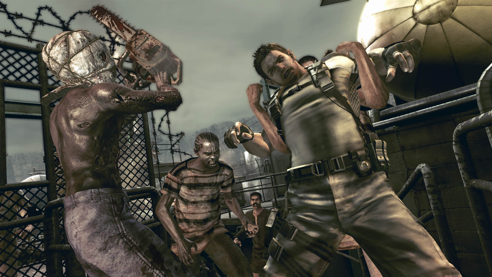 resident evil 5 ps4 gameplay