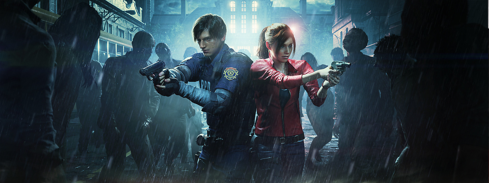 Resident Evil 2 Hero Background