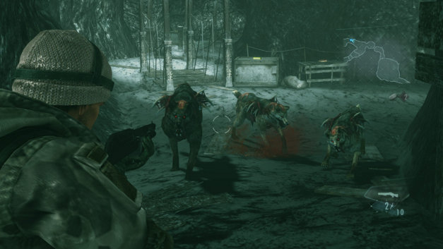RESIDENT EVIL REVELATIONS Screenshot 4