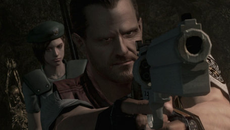 Resident Evil HD Trailer Screenshot