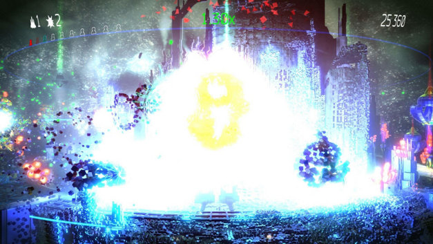 Resogun Screenshot 1