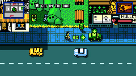 Retro City Rampage™ DX Trailer Screenshot