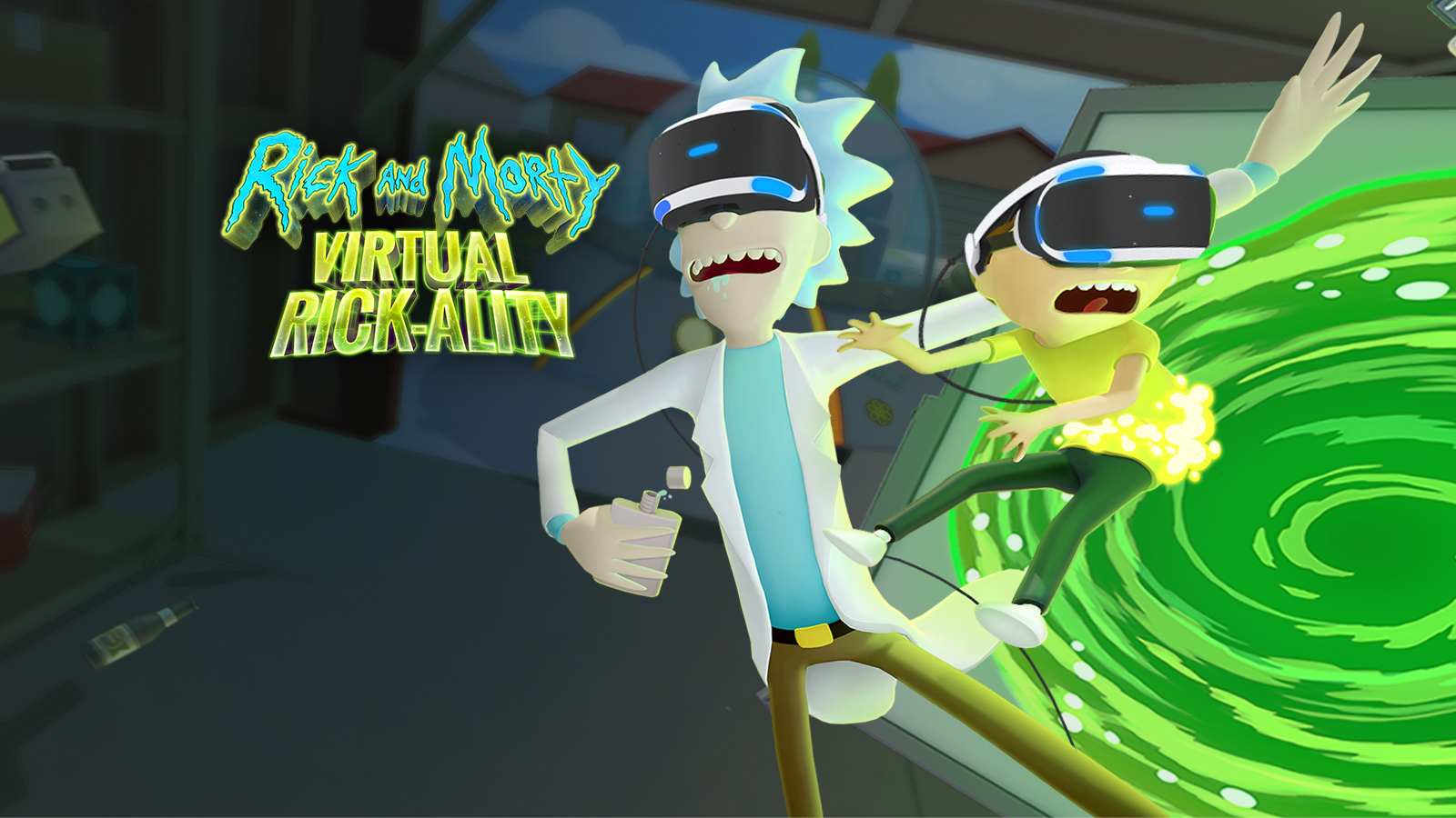 Rick And Morty Virtual Rick Ality Game Ps4 Playstation