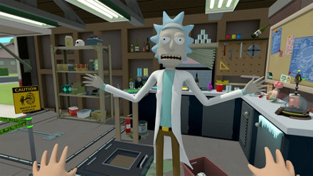 Rick and Morty: Virtual Rick-ality Game | PS4 - PlayStation