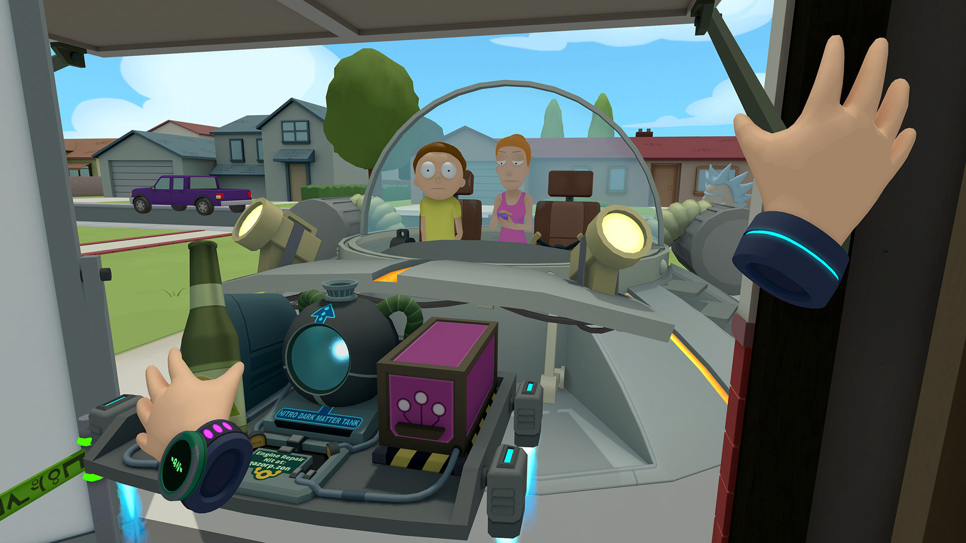 Image result for Rick and Morty Virtual Rick-ality for PlayStation VR