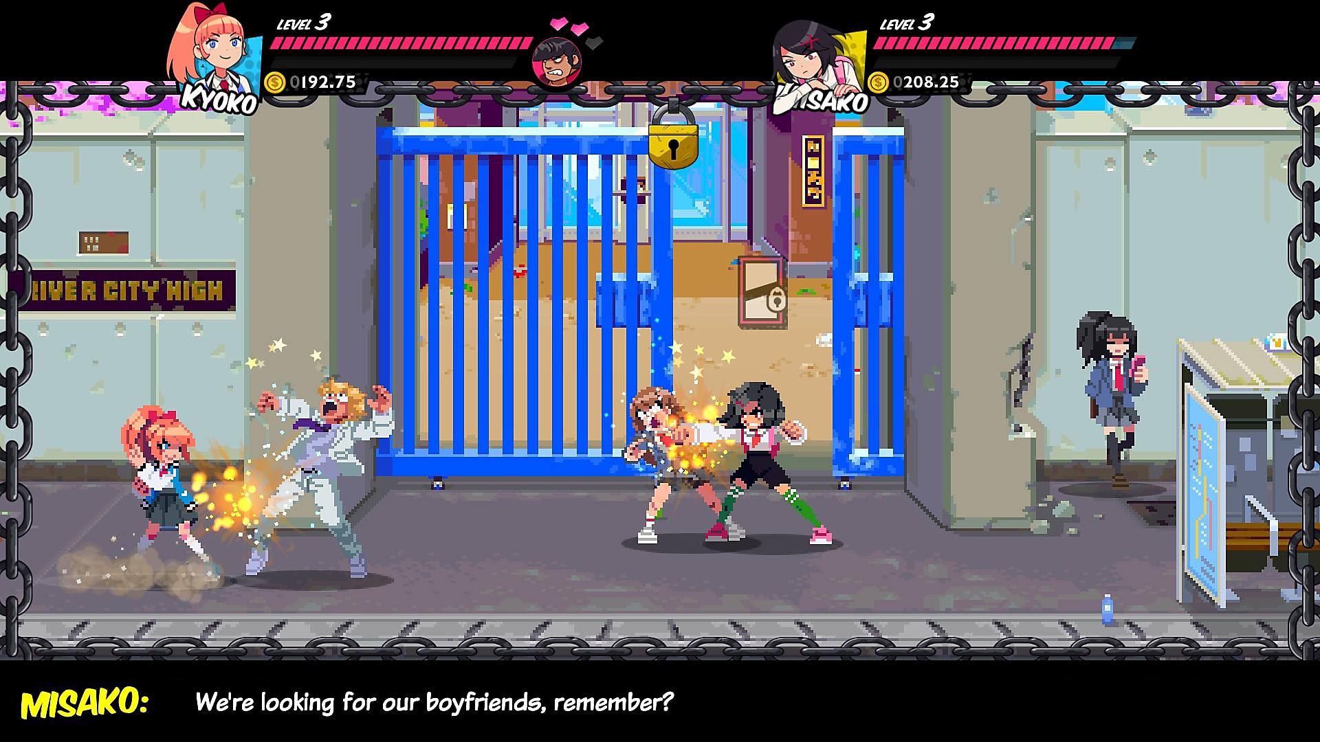 Resultado de imagem para river city girls screenshots
