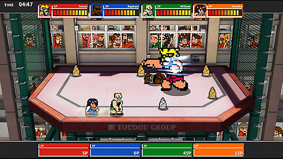 River City Melee Mach!! - Screenshot INDEX