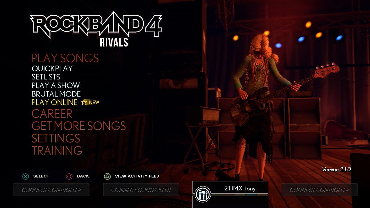 Rock Band Rivals Game | PS4 - PlayStation