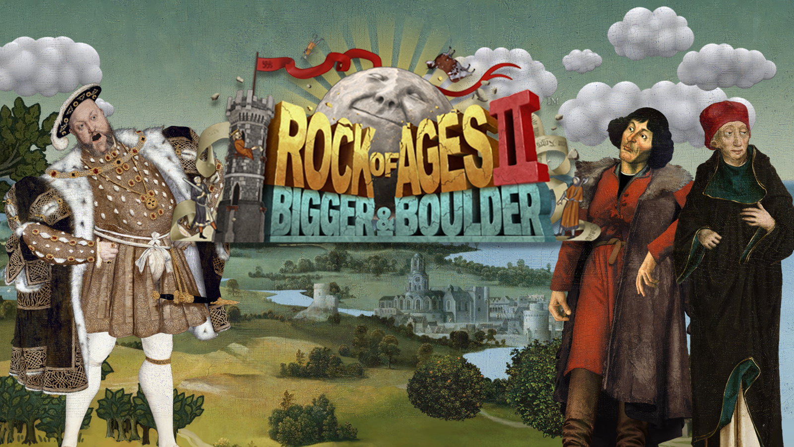 rock of ages 2: bigger & boulder™ game | ps4 - playstation