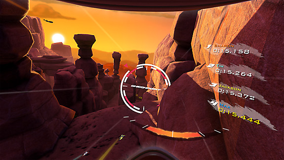 RUSH VR screenshot