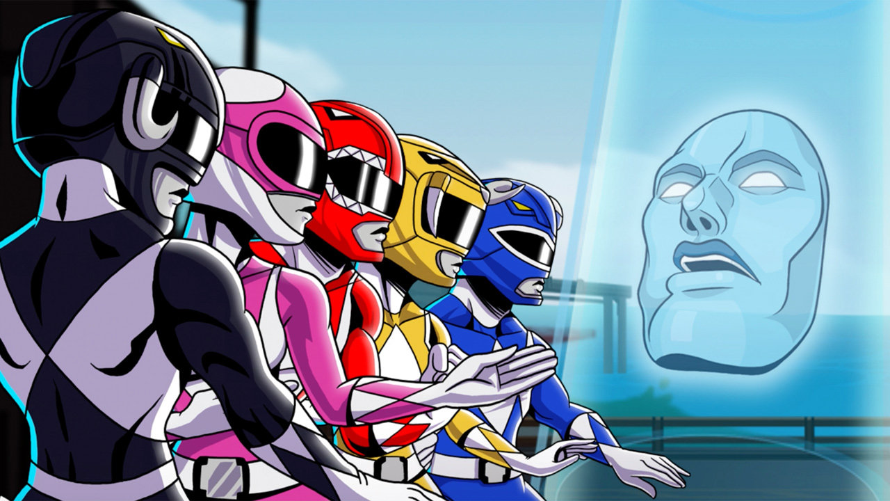 Saban S Mighty Morphin Power Rangers Mega Battle Launch Pack Game