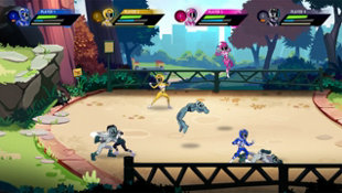 Paquete de lanzamiento de Saban's Mighty Morphin Power Rangers: Mega Battle Screenshot 3